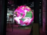 昱成明恩P4球型LED显示屏